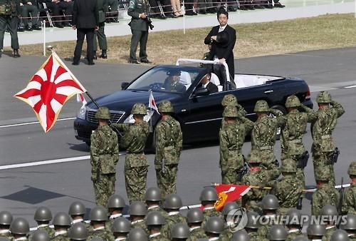 """'전쟁가능 일본' 꿈꾸는 아베 """"헌법70년, 개헌은 국회의원 책임"""""""