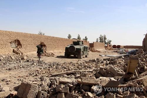 아프간서 탈레반 자폭테러로 정보요원 6명 사망