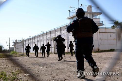 """멕시코 마약조직 두목 아들 탈옥…""""면회 틈타 사라져"""""""