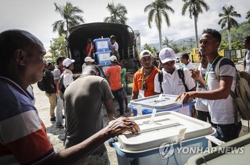 동티모르, 오늘 대통령 선거…여성 후보 등 8명 경합