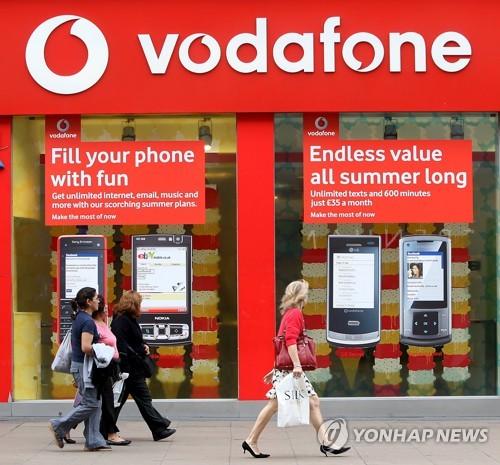 英 보다폰, 인도서 3위 통신사와 합병 합의…인도 최대 통신사로