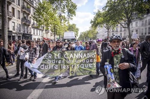 프랑스, 대마초 흡연자 징역형 폐지 추진
