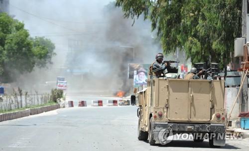 아프간 국영방송국서 IS 총격전…6명 사망·16명 부상(종합)