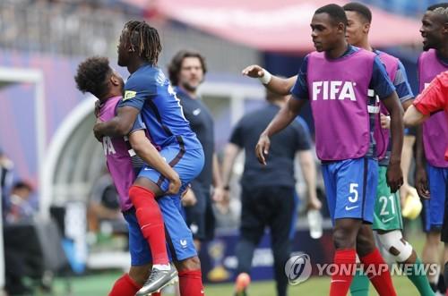 -U20월드컵- 프랑스, 뉴질랜드 꺾고 3연승…E조 1위 16강행