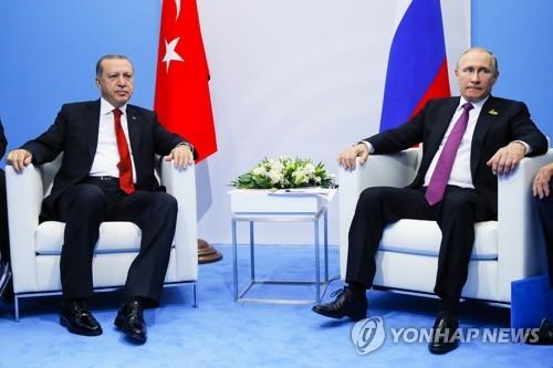 수시로 만나는 에르도안·푸틴…28일 터키서 시리아 사태 논의