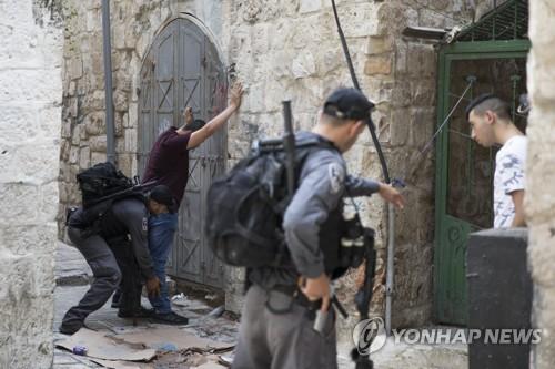 에르도안 예루살렘 이-팔 갈등 개입, 이스라엘 맹비난