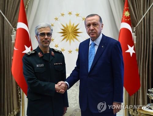 """터키 대통령 내달 이란 방문…""""이라크·시리아 논의"""""""