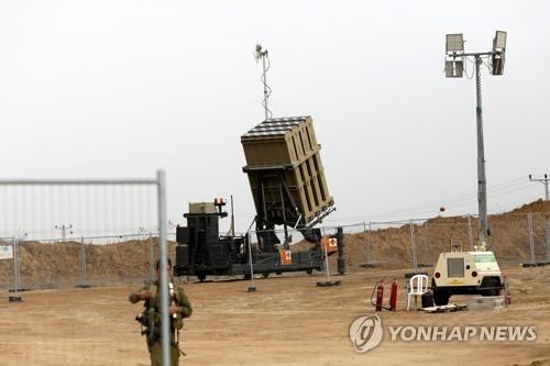 """""""이스라엘, 팔레스타인 무장조직 보복대비 아이언돔 추가배치"""""""