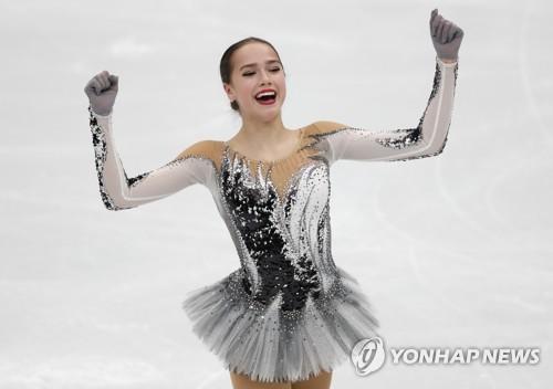 15세 피겨샛별 자기토바, 메드베데바 꺾고 유럽선수권 쇼트 1위