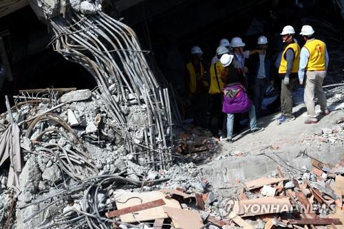 최근 강진 잇따랐던 대만서 또 규모 5.3 지진 발생(종합)
