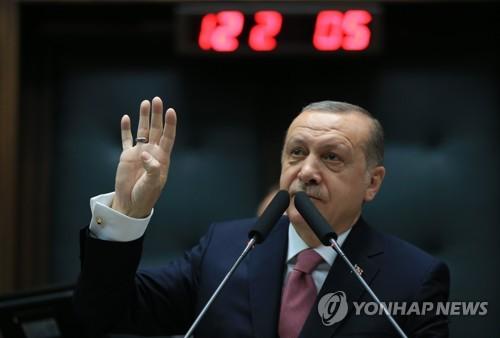 """터키 에르도안 """"며칠 안에 시리아 북서부 쿠르드 포위"""""""