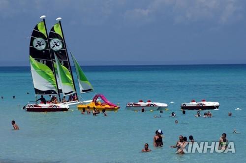 쿠바 경제 상반기에 1.1% 성장…관광·건설 분야 호조