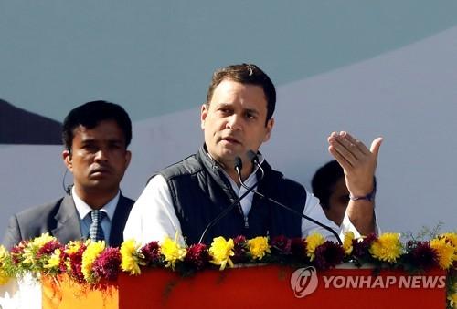네루 증손자 라훌, 인도 제1야당 총재 취임