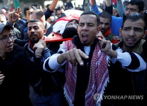 """""""하반신 이어 목숨마저""""…장애인 시위대 사살에 팔레스타인 분노"""