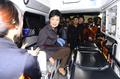 مرشحة الرئاسة بارك كون هيه تزور مركز 119 للإنقاذ