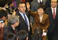 Park Geun-hye salue les agriculteurs