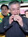 Moon Jae-in en campagne