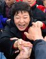 Park Geun-hye en campagne