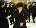 Park Geun-hye en deuil