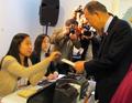 Ban Ki-moon vote pour la présidentielle