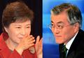 Park et Moon en débat télévisé