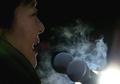 Park Geun-hye dans le froid