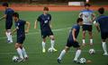 韩国队备战世界杯首场比赛