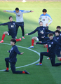 韩国队备战世界杯第二场比赛
