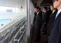 La dテゥlテゥgation nord-corテゥenne au principal stade des Jeux asiatiques