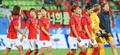 Les footballeuses sud-corテゥennes remportent leur match