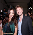 Ko So-young with Burberry CEO
