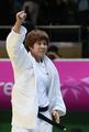 Championne de judo