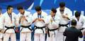 Mテゥdaille d'or des judokas