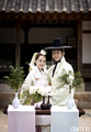 Chae Rim's wedding photo