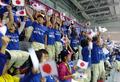 日本代表を応援