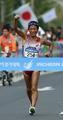 日本競歩初の金メダル