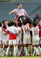 NK captures gold in women's football