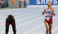 悔しい銀 女子マラソンの木崎