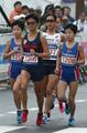 北朝鮮の双子選手 女子マラソンに出場