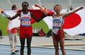 Winners of women's marathon