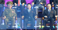NK officials at Asiad closing ceremony