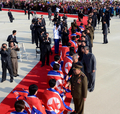 NK athletes welcomed