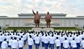 NK athletes visit Mansudae