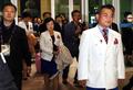 NK delegates in Incheon