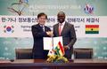 Protocole d'entente avec le Ghana