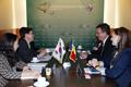 Dialogue sur les TIC entre la Corée et la Roumanie