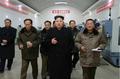 Kim Jong-un at precision machine mill