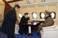 NK leader's plane