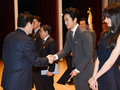 Song Seung-heon promotes tax payment