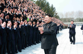 NK leader extols producers of homemade aircraft